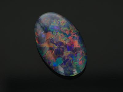 Opal Triplet 16x10mm Oval