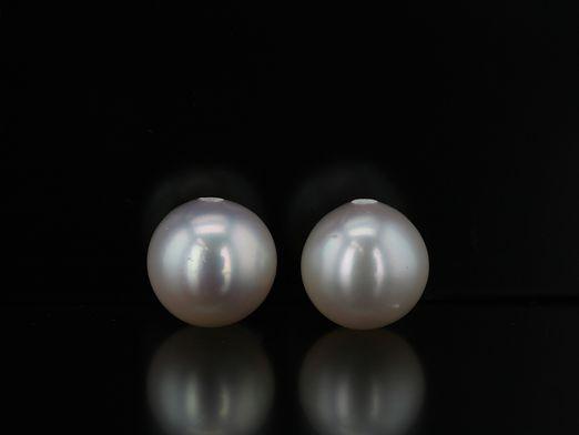 Fresh Water Pearl 6-6.5mm Half Drilled (C)
