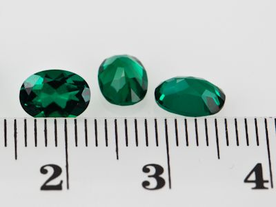 Hydrothermal Emerald 7x5mm Oval (S)