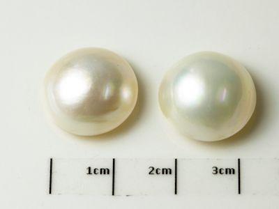 Mabe White Pearl 15.5-16mm Round (C)