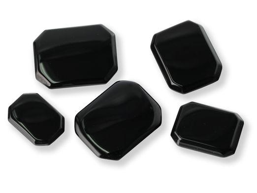 German Cut Onyx 35x25mm Octagonal BuffTop (T)