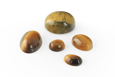 Tiger's-eye 25x18mm Oval Cabochon (N)