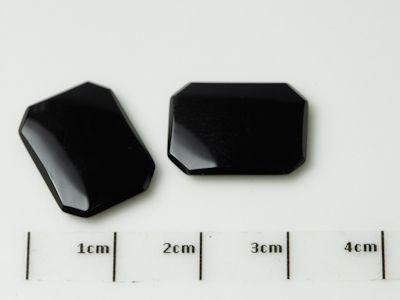German Cut Onyx 16x12mm Octagonal BuffTop (T)  EOL