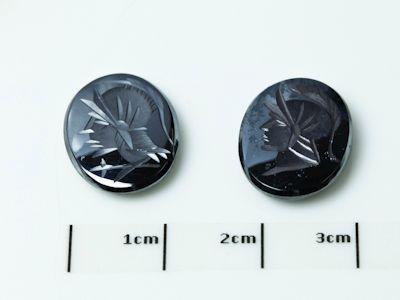 Haematite 16x12mm Oval Intaglio (N)