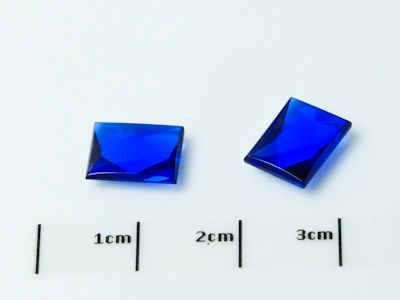 Bright Blue Syn Spinel Buff-Top 9x7mm Bag (S)