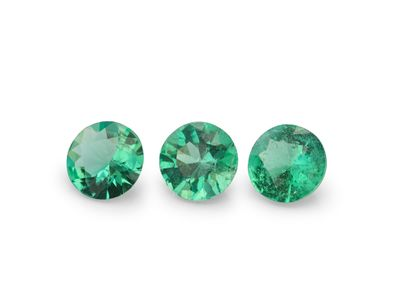 Emerald 4mm Round 2nd Grade (E)