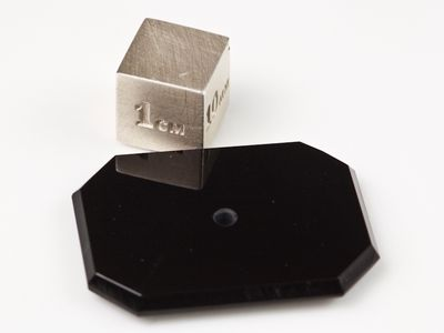 German Cut Onyx 30x22mm Octagonal BuffTop Single Hole Drilled (T)