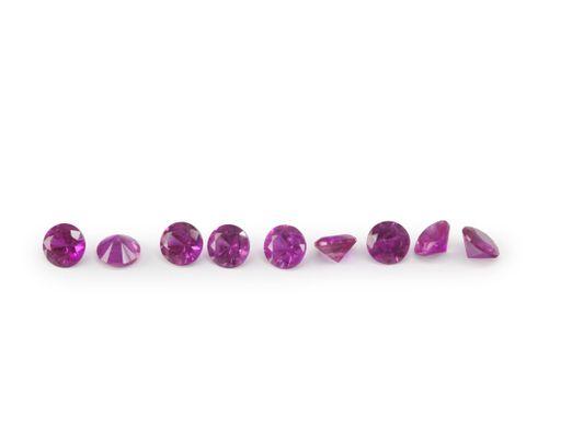 Ruby Bright Red 1.5mm Round Signity GQ (E)