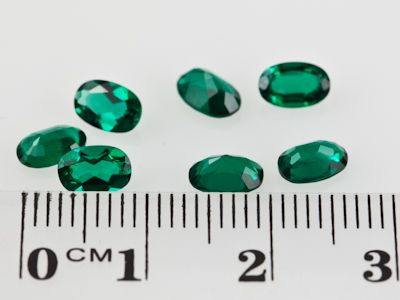 Hydrothermal Emerald 6x4mm Oval (S)