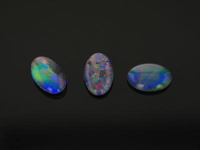 Opal Triplet 6x4mm Oval