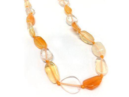 Beads Fire Opal 12x8mm Nuggets (N)