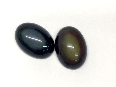Rainbow Obsidian 18x13mm Oval Cabachon(N)