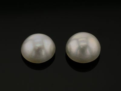 Mabe White Pearl 11-11.5mm Round (C)