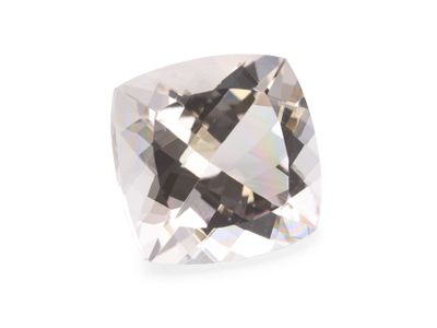 Morganite Pink 14mm Square Cushion (E)