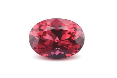 Spinel Red 8.65x6.3mm Oval (N)