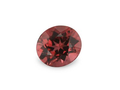 Spinel Red 6.5x5.7mm Oval (N)