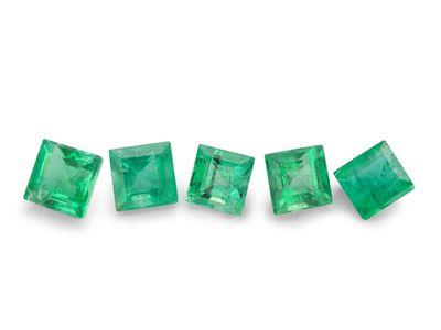 Emerald 2.75mm Square Carre 1st Grade (E)