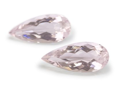 Morganite Pink 18x8.2mm Pear Pr (T)