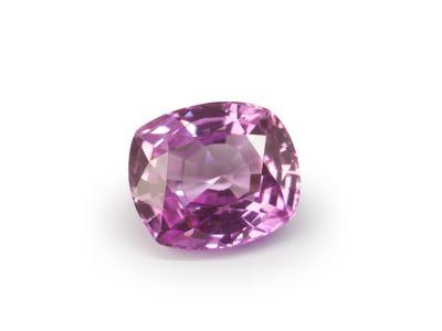 Pink Sapphire 6.05x5.2mm Cushion (E)