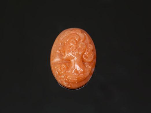 Cameo Pink Coral 16x12mm (N)
