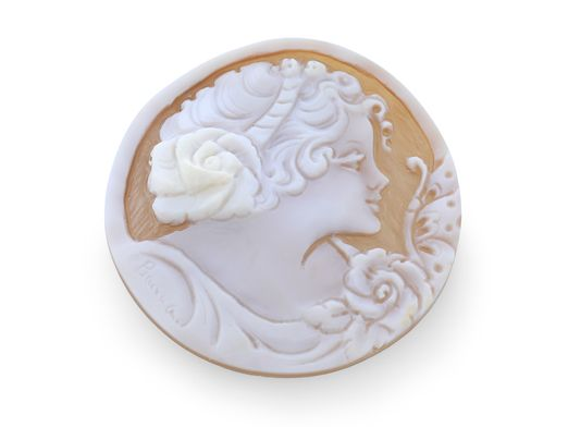 Cameo 51x50mm Lady's head (N)