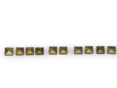 Marcasite Signity Square 2.2-2.3mm pack 10