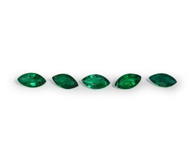 Emerald 5x2.5mm Marquise 1st Grade (E)