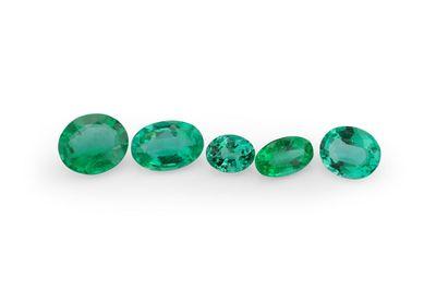 Emerald 6x5mm Oval 1st Grade (E)