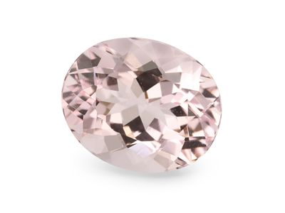 Pink Morganite Dark 12x10mm Oval (T)