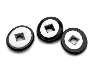Onyx MOP 14x12mm Oval BuffTop #1 (T)