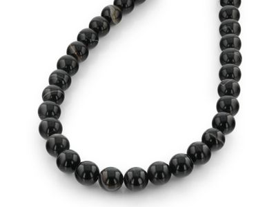 Sardonyx Bead Strands 12mm Polished Round (T)