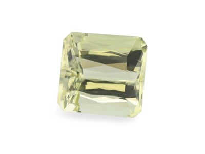 Yellow Beryl 10x9.5mm Emerald Cut (N)