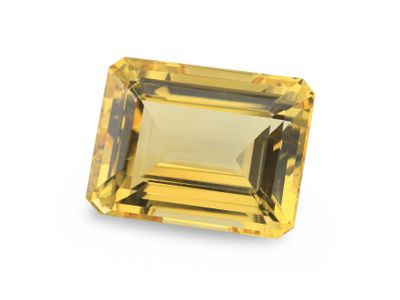 Yellow Beryl 16x12.3mm Emerald Cut (N)