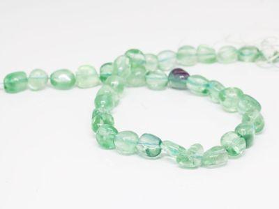 Beads Fluorite AA 10-12mm Polish/Tumble (N)