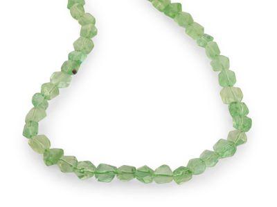 Beads Fluorite Green 8-13x5-7mm Tumble (N)