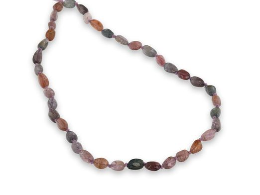 Multi-Coloured Spinel Polished Pebble Strands A Grade (N)