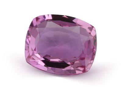 Sapphire Pink Mid 6.4x5.4mm Cushion (E)