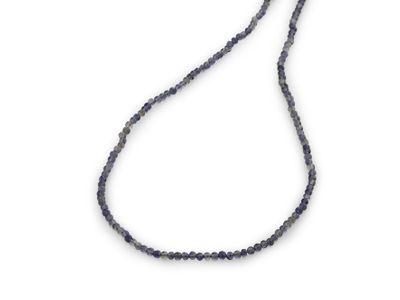 Beads Iolite 3mm Round Pol (N)