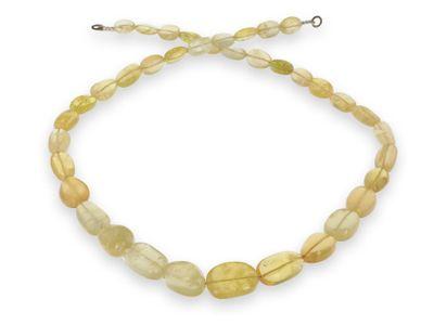Beads Heliodor Graduated Pebbles (N)