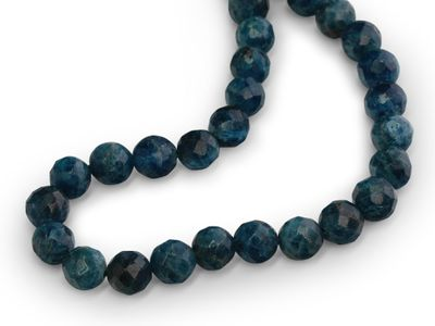 Apatite 8mm Faceted Round Strand (N)