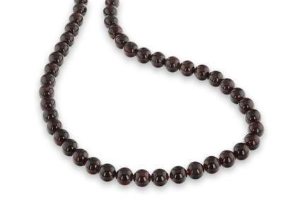 Beads Garnet 9-9.5mm Polished Round (N)