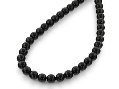 Black Obsidian 10mm Pol Round (N)