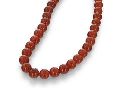 Carnelian 12mm Polished Round (T)