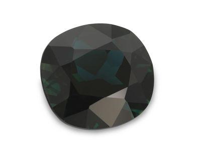 Sapphire Teal 9.7x9mm Cushion (E)