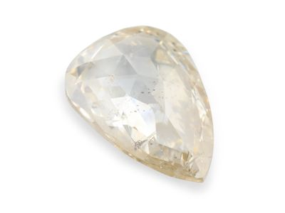 Diamond Light Champagne 9.4x6.5mm Pear Rose Cut (N)