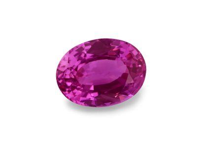 Sapphire Magenta 6.9x5.1mm Oval (E)