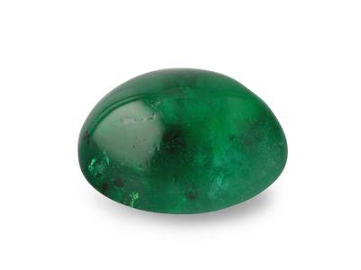 Emerald 8.2x6.4mm Oval Cabochon (E)
