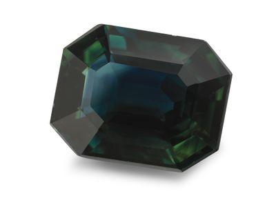 Sapphire Aust Bl/Gr 9x7mm Em/c (E)