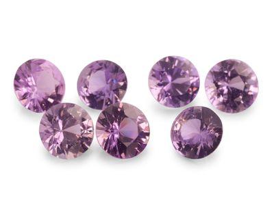 Sapphire Purple 3mm Round DCut (E)