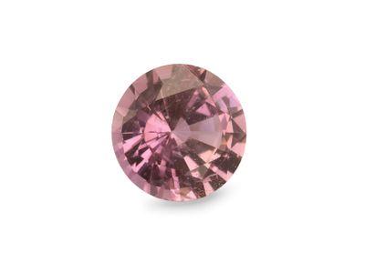 Sapphire Pink Orange 5.9mm Round (E)